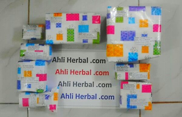 Contoh Packing Ahli Herbal
