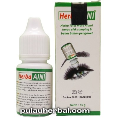 Obat Tetes Mata Herbal